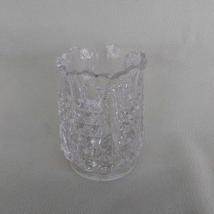 Other - Vintage Cut Glass Toothpick Holder